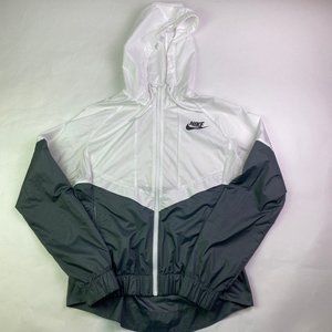 Nike Performance Vented Full Zip Hooded Wind Break